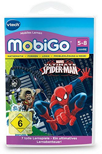 VTech 80-253604 - MobiGo Lernspiel Der ultimative Spider-Man