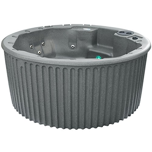 Essential Hot Tubs 20-Jet Arbor Hot Tub, Seats 6-7, Gray Granite