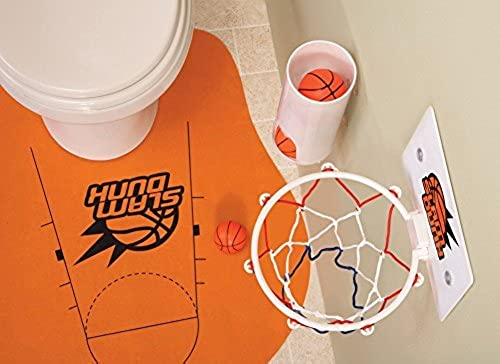 Slam Dunk Toilet Basketball Set by Collections Etc