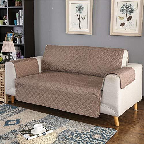 WUFANGFF Sofa-Überwürfe Sofa Couch Abdeckung Wasserdichte Schutzhülle für Hund Haustier Kid Sessel Sessel Anti Slip Möbelschoner, 3 Sitz (167 * 190 Cm)