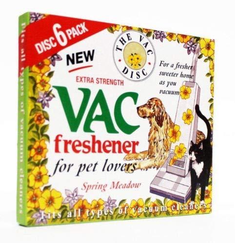 Zoek een Reserve Stofzuiger Luchtverfrisser Lente Weide Hoover Disc Pack van 6 Freshener Past op alle Hoovers