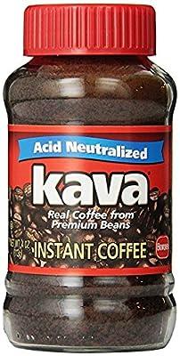 Kava Instant Coffee, Glass Jar