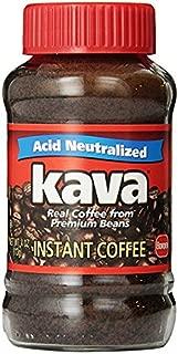 Kava Instant Coffee, 4 Ounce Glass Jar