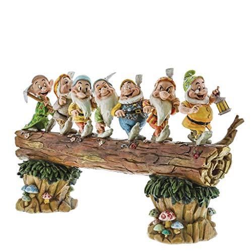 Disney Traditions, Figura de los 7 enanitos de 'Blancanieves' yendo a trabajar,...