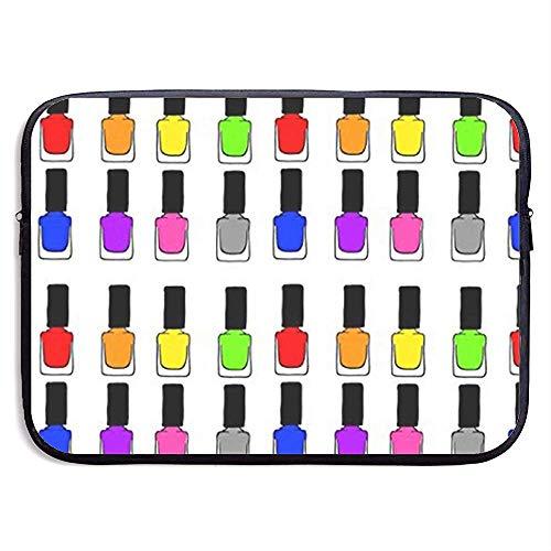 15 inch regenboog nagellak waterafstotende laptop hoes tas cover