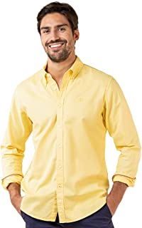El Ganso Camisa Garment Dyed Amarillo