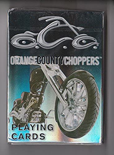 Orange County Choppers Playing voitureds (noir) by US Playing voitured Company by Wizard Headquarters