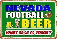 ネバダ州のフットボールとビールのグッズウォールアート