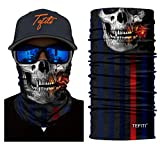 TEFITI Neck Gaiter Face Scarf & Shield UV Fishing Bandana Scarf Covering for Dust & Sun Protection