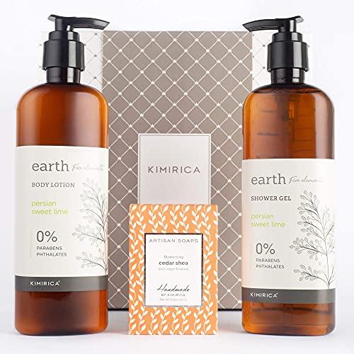 Kimirica Luxury Bath Care Gift Box in 2021 – Shower Gel, Body Lotion, Soap