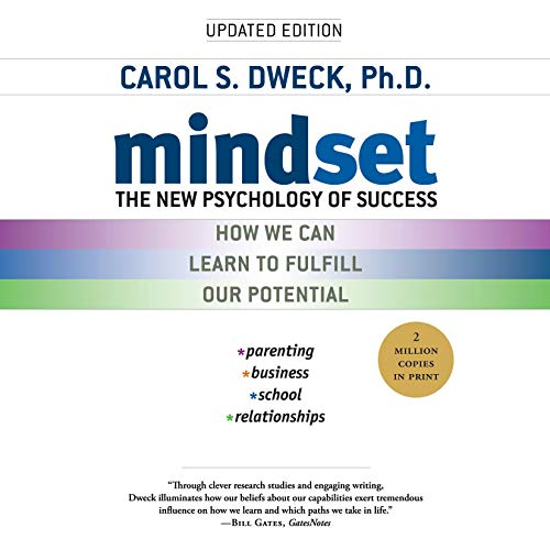 Mindset     The New Psychology of Success              By:                                                                                                                                 Carol S. Dweck                               Narrated by:                                                                                                                                 Bernadette Dunne                      Length: 10 hrs and 23 mins     599 ratings     Overall 4.6