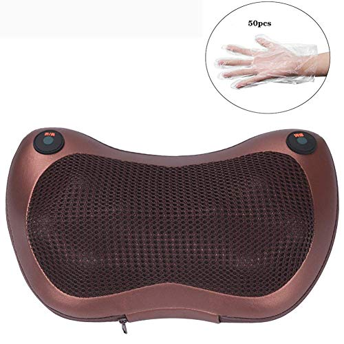 Massage Kussen, Elektrische Massager, Back Massager Roller, Verwarmde Lower Stoelkussen pad for nekpijn en Stress Relief Machine autostoel, koffie shoulder and neck massage