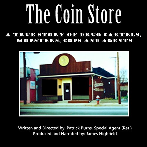 The Coin Store audiobook cover art