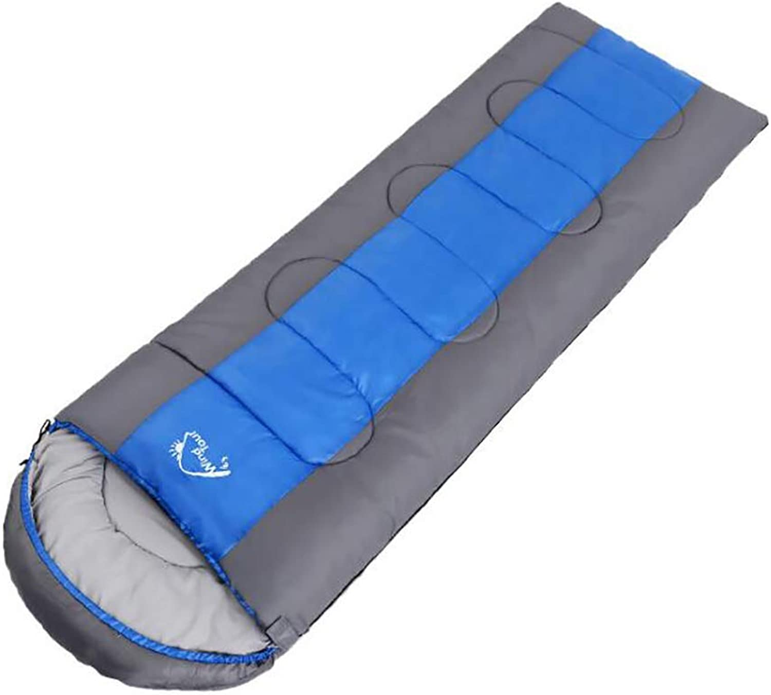 Adult Sleeping Bag Thick Warm to Suit The Four Seasons Outdoor Camping Travel Office Lunch Break Home Guest Hotel Car