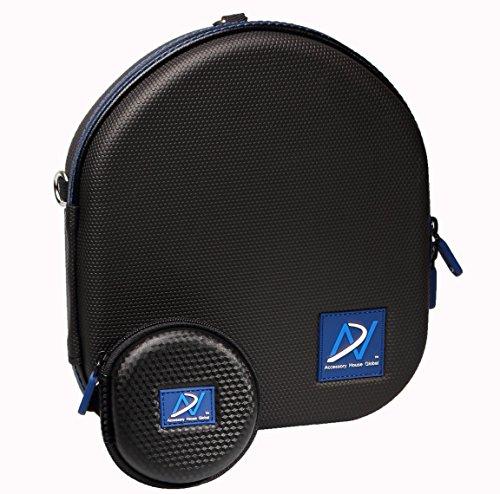 Carrying Case for Sony WHXB700 WH-XB900 MDR-1AM2 WH-CH700N MDR-1A MDR-XB950N1 XB950B1 XB950BT Sennheiser PXC550 PXC480 Beoplay H6 H7 Audio Technica ATH-MSR7 AUDEZE SINE (Bonus Earphone case)