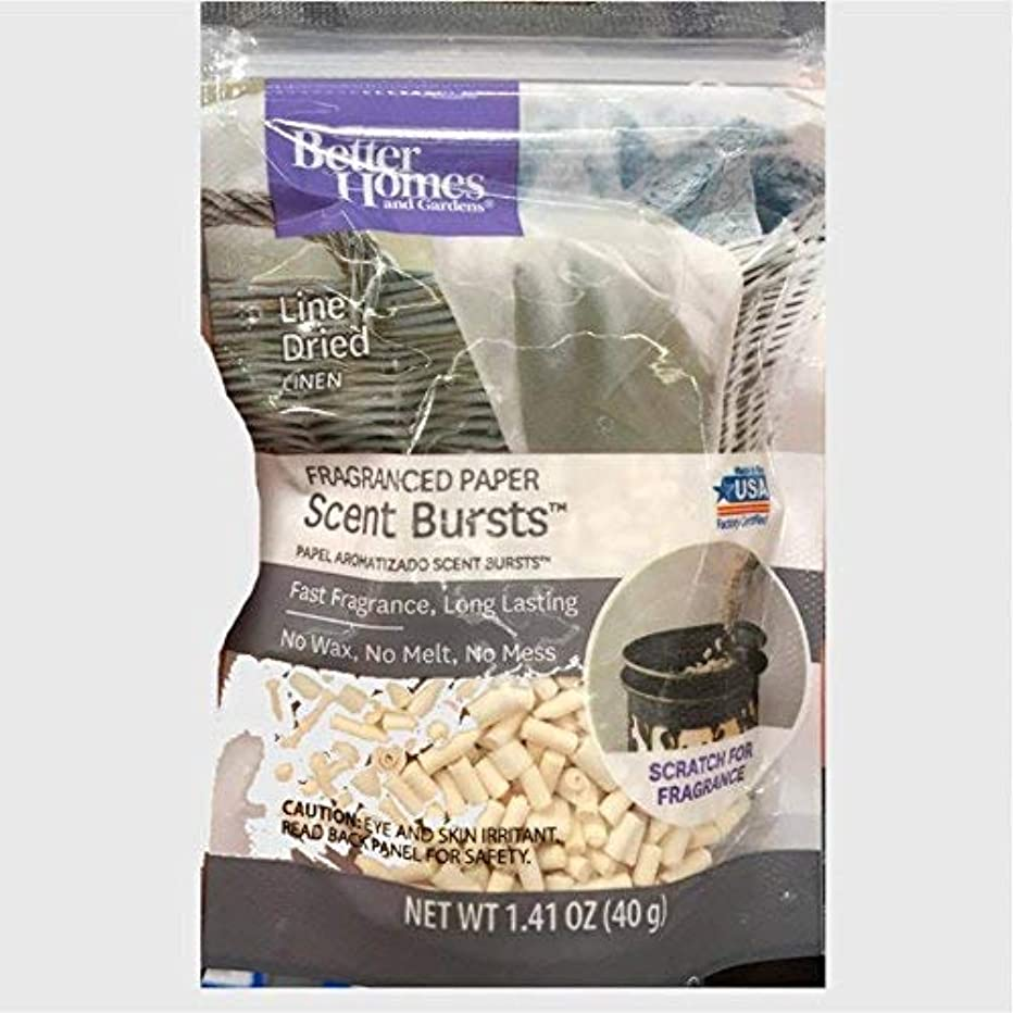 Better Homes and Gardens Scent Bursts Line Dried Linen 1.41 OZ