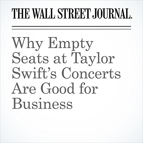 Why Empty Seats at Taylor Swift's Concerts Are Good for Business copertina