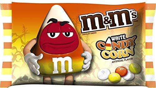 M&M's Candy Corn White Chocolate Candies 8 OZ Bag