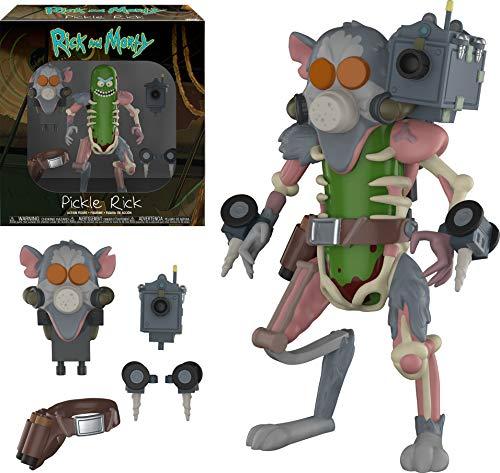 Action Figure: Rick y Morty: Pickle Rick