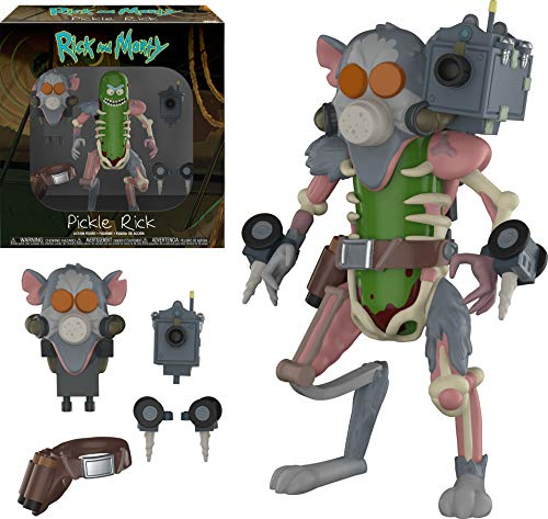 Action Figure: Rick y Morty: Pickle Rick