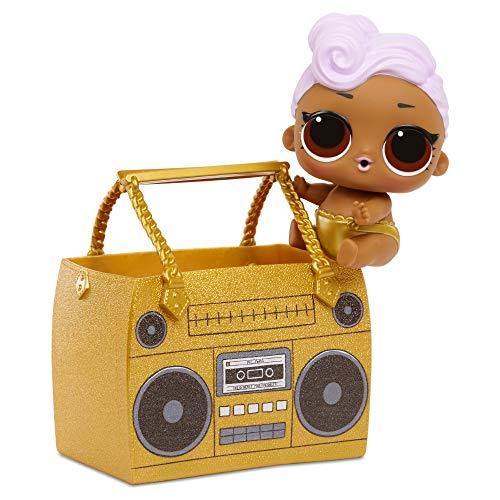 Giochi Preziosi LOL Ooh La La Baby, Lil Sisters Giganti con 15 Sorprese, Lil DJ