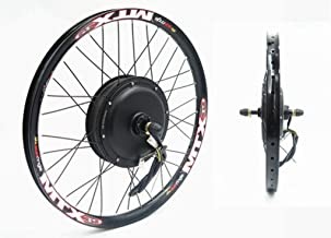 72V 2000W Rear Wheel Motor, 2000W Electric Bike Kit,Electric Bicycle Conversion Kit with Mutifunction SW900 Display,72V 45...