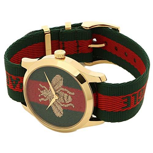 [グッチ]腕時計レディースGUCCIYA12648738MMグリーンレッド[並行輸入品]