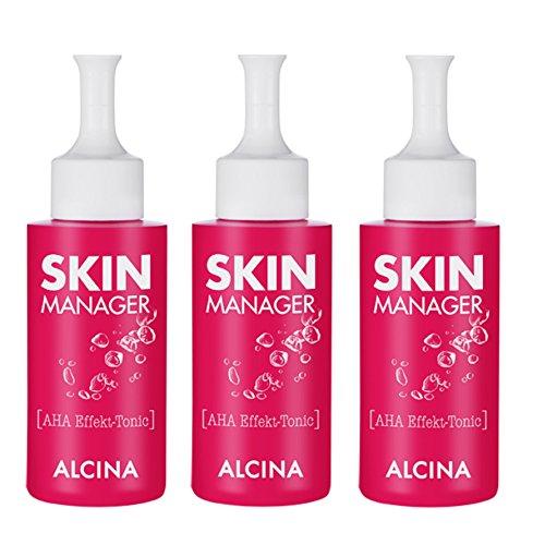 3er Skin Manager AHA Effekt Tonic pflegende Kosmetik Alcina je 50 ml = 150 ml