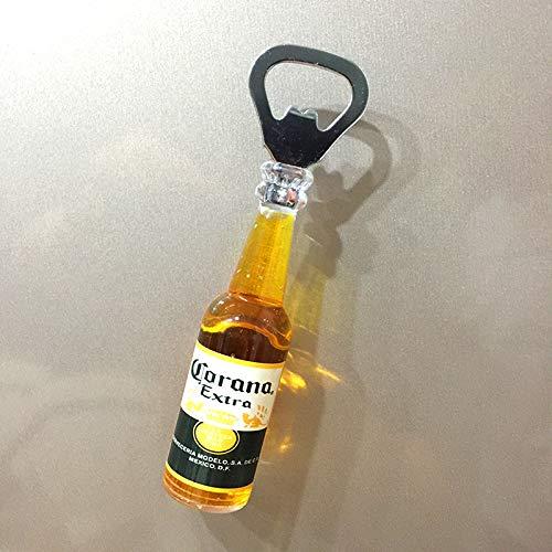 SUXIAO 3D Bier Flaschenöffner Kühlschrank Aufkleber Schraubendreher Creative Home Decoration Magnetic Sticker Corona