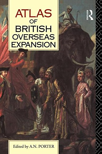 Download Atlas of British Overseas Expansion 0415019184