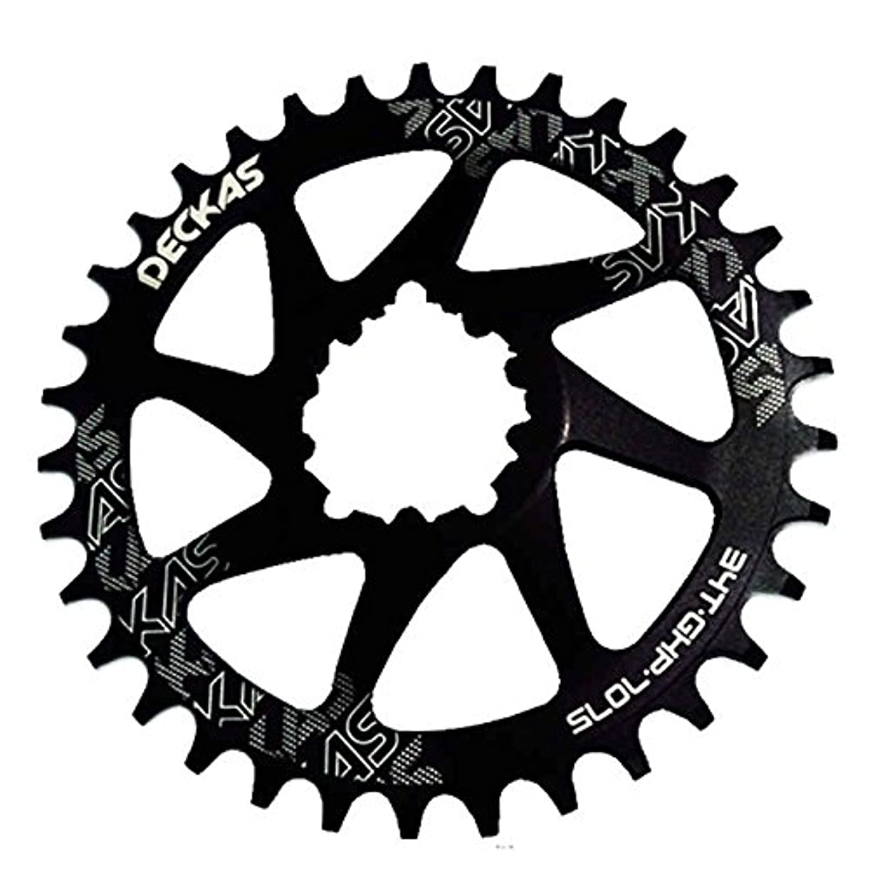 分迫害不実Propenary - GXP bicycle crankset Al 7075 CNC32T 34T Narrow Wide Chainring Chainwheel for Sram XX1 XO1 X1 GX XO X9 crankset bicycle parts [ 38T Black ]