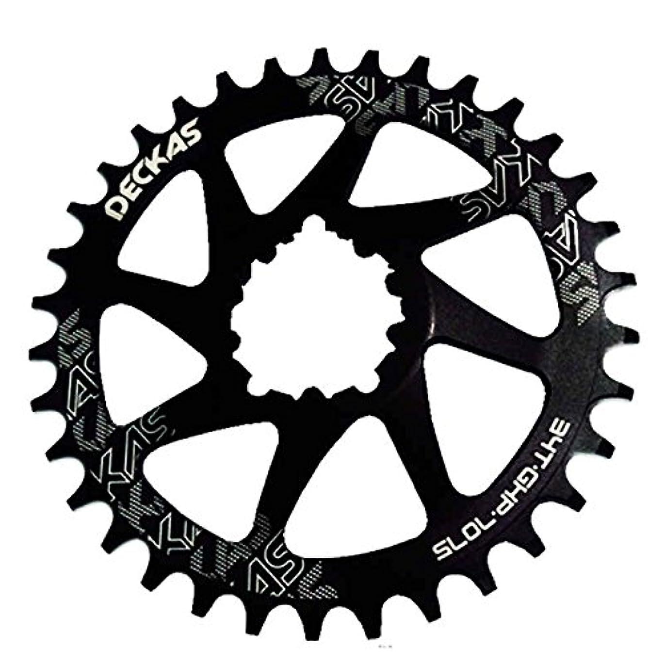 Propenary - GXP bicycle crankset Al 7075 CNC32T 34T Narrow Wide Chainring Chainwheel for Sram XX1 XO1 X1 GX XO X9 crankset bicycle parts [ 34T Black ]