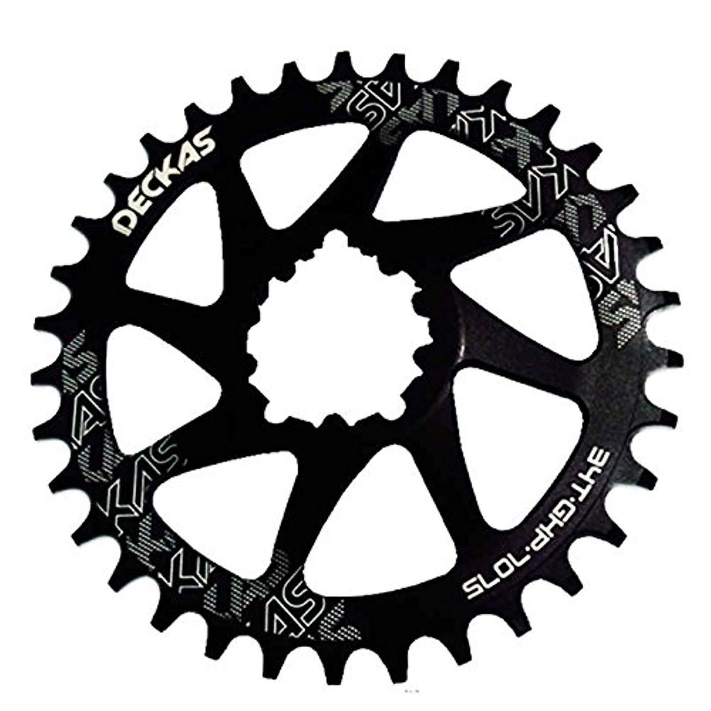 非武装化単独で人Propenary - GXP bicycle crankset Al 7075 CNC32T 34T Narrow Wide Chainring Chainwheel for Sram XX1 XO1 X1 GX XO X9 crankset bicycle parts [ 38T Black ]