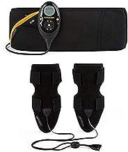 Slendertone Pack dames armband en buikversteviging buikspierriem Abs7, zwart, 69-119 cm, 27-47 cm