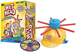 Wet Head Game, Wet Hat Water Challenge Roulette Game Prank Game Toys for Family, Party and Outdoor Activity