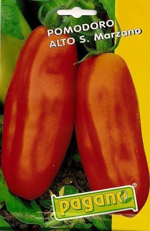 Pomodoro S. Marzano 2-San Marzano tomate Semillas-3 gms