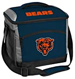 Rawlings NFL Soft-Sided Insulated Cooler Bag, 24-Can Capacity, Chicago Bears