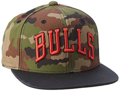 adidas Nba Snapback Bulls T Mütze, Multicolor/Red, OSFM