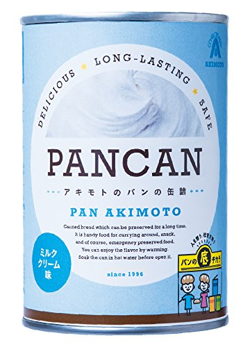 パン・アキモト パンの缶詰 ミルククリーム 100g×4個