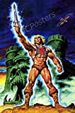MCPosters - Masters of The Universe He-Man Cartoon TV Show Series Poster Glossy Finish - TVS820 (24' x 36' (61cm x 91.5cm))