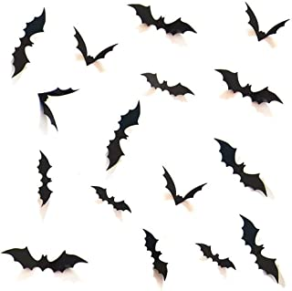 HOZZQ DIY Halloween Party Supplies PVC 3D Decorative...