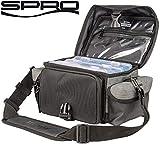 Spro Freestyle Side Bag 20x17x13cm - Kunstködertasche für Wobbler, Gummifische & Jigs, Angeltasche, Ködertasche, Tackletasche
