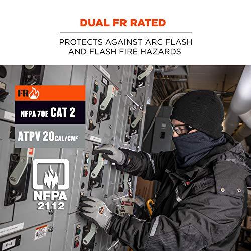 Ergodyne N-Ferno 6962 FR Neck Gaiter, NFPA 70E/ NFPA 2112, navy