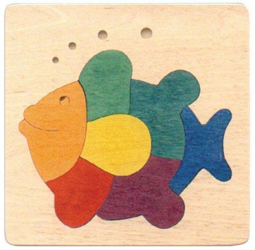 Puzzle George Luck - Poisson Marrant Arc-en-Ciel