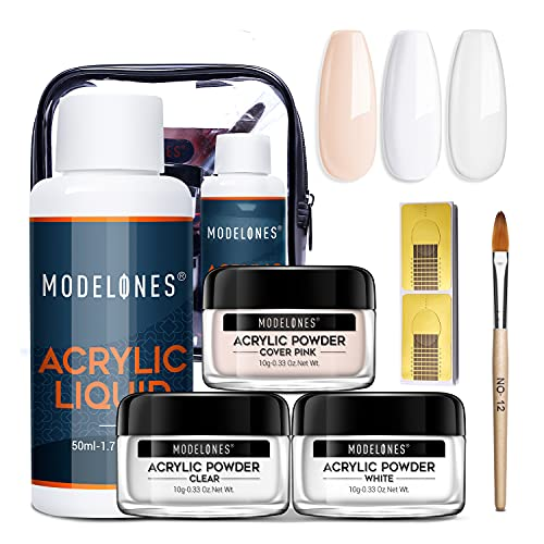 Modelones Acrylic Powder with Professional Liquid Monomer Only $4.32 (Retail $17.98)
