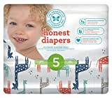 Honest Baby Diapers, Multi Colored Giraffes, Size 5 (100 Count)