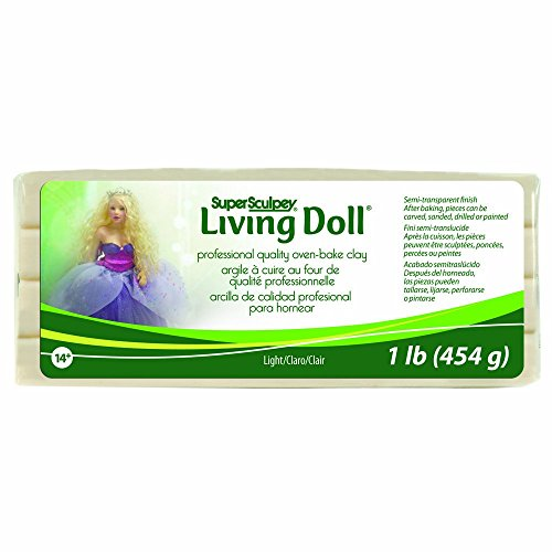 Super Sculpey Polyform ZSLD-3 Living Doll Sandplatz 1 Pound
