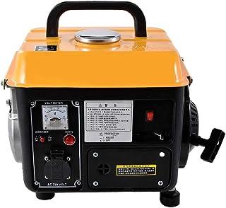 QWERTOUY La Gasolina de bajo Ruido de generador portátil de Gasolina en Miniatura del hogar generador de 110V / 220V 700W