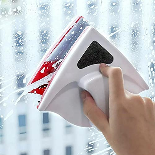 Magnetic Window Cleaner Brush Double Side For Washing Wiper Magnet Glass Cleaning Cleaner Windows Wash Window Glass Househo T2Q3 (A)