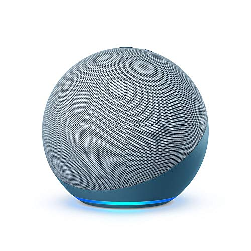 All-new Echo (4th Gen) | With premium sound, smart home hub, and Alexa | Twilight Blue
